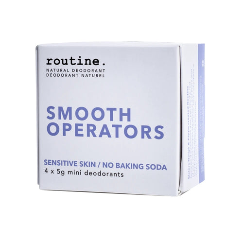 Routine Deodorant Smooth Operators Mini Kit