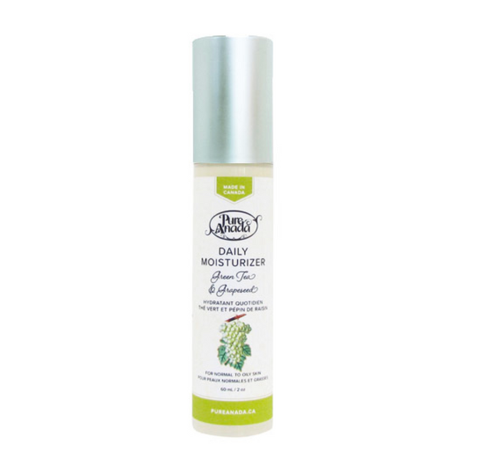 Pure Anada Cosmetics - Daily Moisturizer - Green Tea & Grapeseed