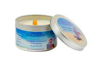 Essential Relaxation - Soy Candle - Sandbanks Beach