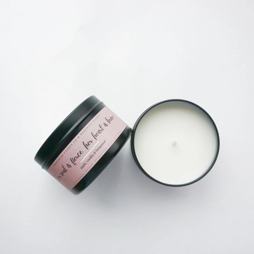 Terradomi - Apple, Vanilla & Bergamot Soy Candle 8 oz