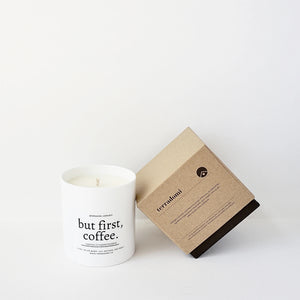 Terradomi - But First, Coffee Soy Candle