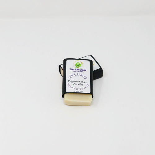 Bar Soap - Peppermint Super Scrubby