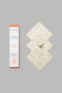 Abeego Canada - MEDIUM Beeswax Food Wraps