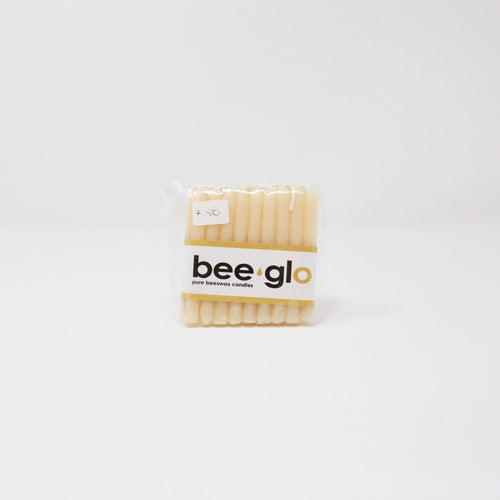 BeeGlo Birthday Beeswax Candle