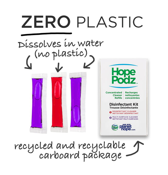 HopePodz Disinfectant Trio Pack