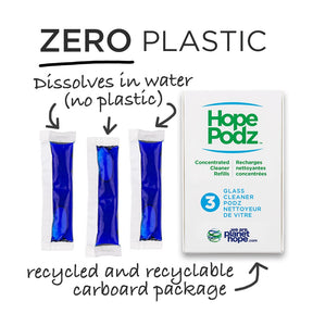 HopePodz Glass Cleaner Trio Pack - SALE!