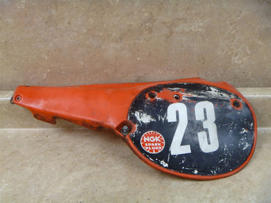 Honda125 CR AHRMA CR125 Used Left Side Cover Vintage 1981 #SC235