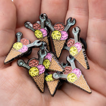 Load image into Gallery viewer, Ice Cream Enamel Pin