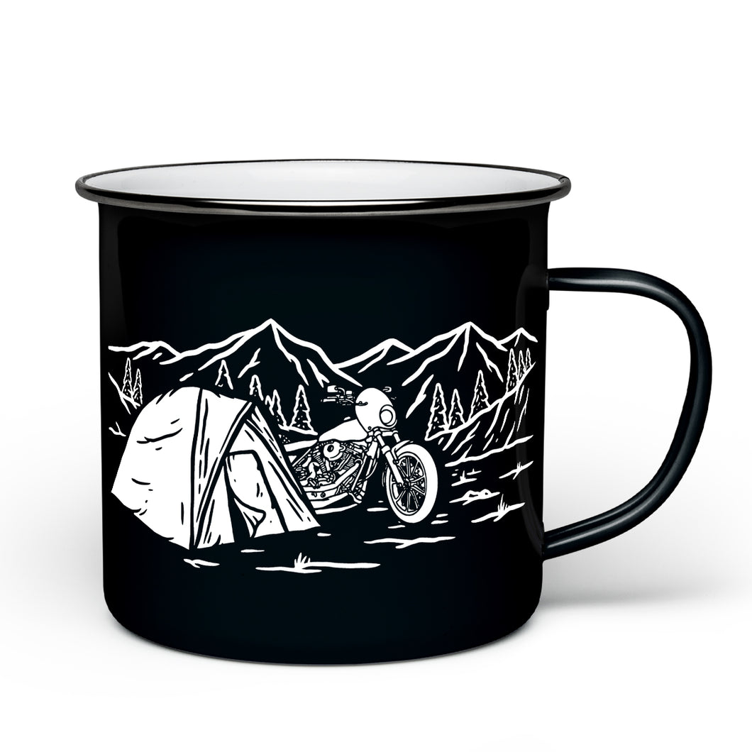 Get Lost Camp Mug - Black