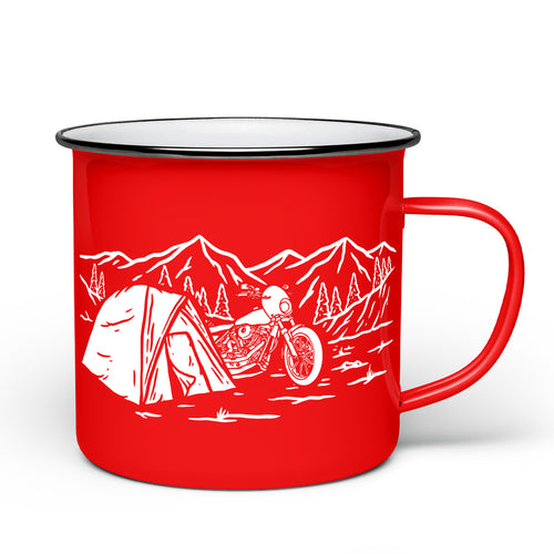 Get Lost Camp Mug - Red