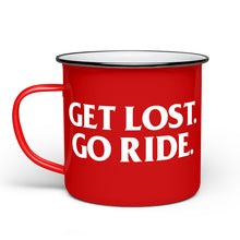 Load image into Gallery viewer, Get Lost Camp Mug - Red