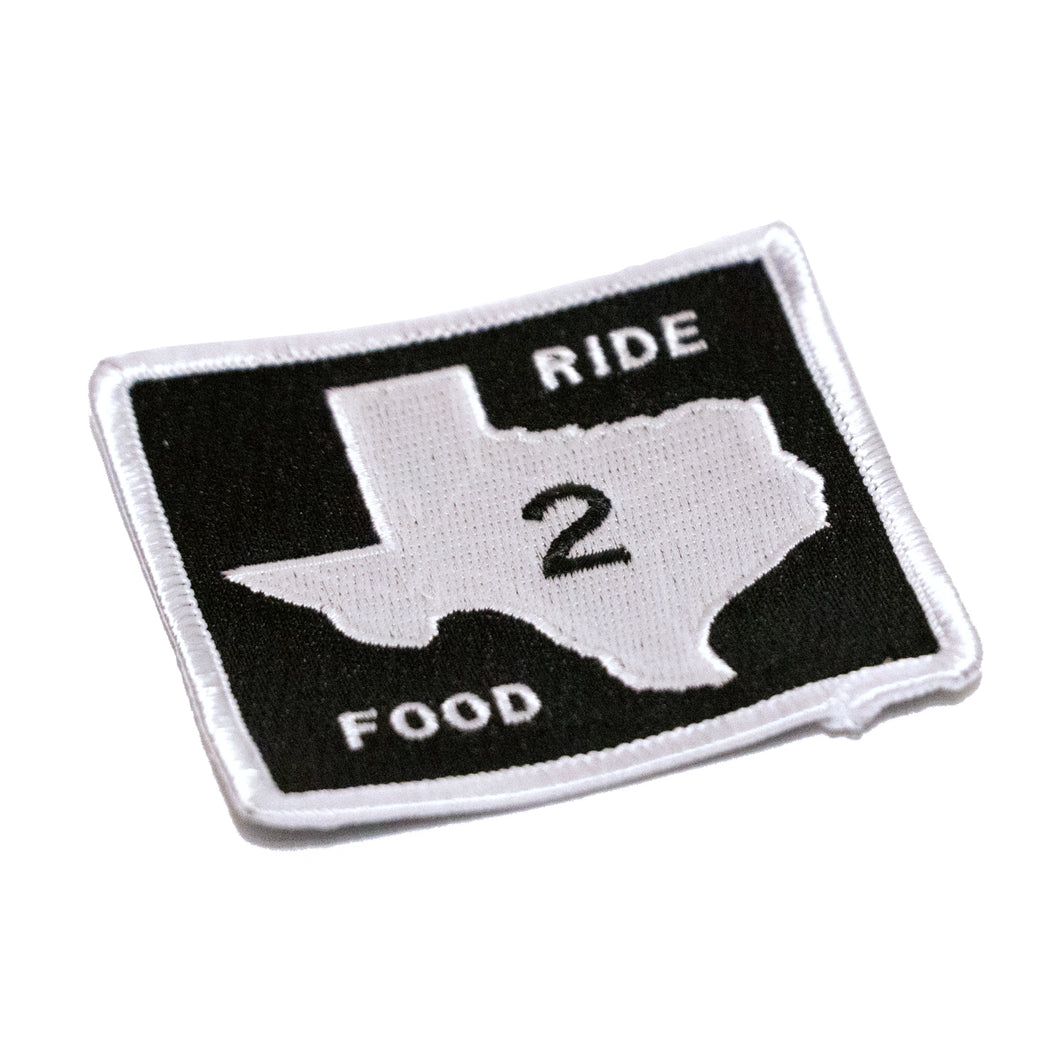 Texas FM Road Sign Patch