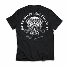 Load image into Gallery viewer, More Miles Less Bullsh*t Tee