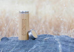 Bamboo Tumbler with Tea Infuser | Tea Infuser Travel Mug