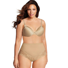 Plus Size Maidenform Shapewear Firm Foundations Curvy At Waist Shaping Brief DM0045