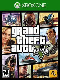 Grand Theft Auto V, Rockstar Games, Xbox One, 710425495243Grand Theft Auto V, Rockstar Games, Xbox One, 710425495243