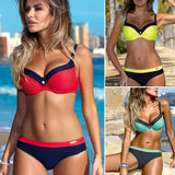 Women Sexy Push-Up Swimsuit Swimwear. Sexy Bath & Suit Beach Clothes (Toworda)