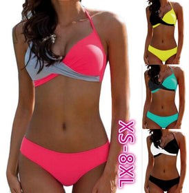 Women Bikini Blockbuster Underwear Padded Swimwear Swimsuit Bathing Swimwear