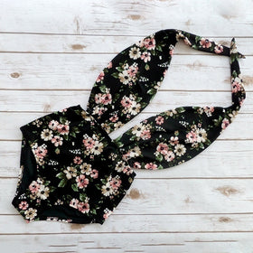 Summer Fashion Print Floral One-piece Bikini Swimsuit for Women Beach Swimwear