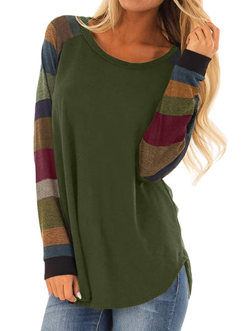Long Sleeve Pullover Tops