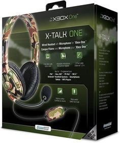 DreamGear X-Talk Wired Headset: Camo for Xbox OneDreamGear X-Talk Wired Headset: Camo for Xbox One