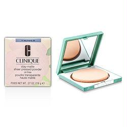 Clinique Stay Matte Powder Oil Free - No. 11 Stay Brandy --7.6g/0.27oz By Clinique
