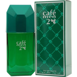 Cafe Men 2 By Cofinluxe Edt Spray 3.4 Oz (green Edition)