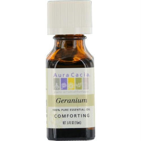 Aura Cacia Geranium-essential Oil .5 Oz By Aura Cacia