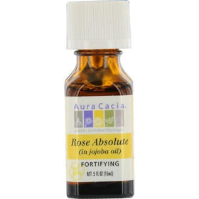 Aura Cacia Rose Absolute In Jojoba Oil .5 Oz By Aura Cacia