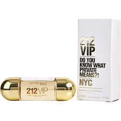 212 Vip By Carolina Herrera Eau De Parfum Spray 1 Oz