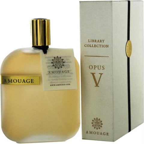 Amouage Library Opus V By Amouage Eau De Parfum Spray 3.4 Oz