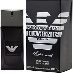 Emporio Armani Diamonds Black Carat By Giorgio Armani Edt Spray 1.7 Oz