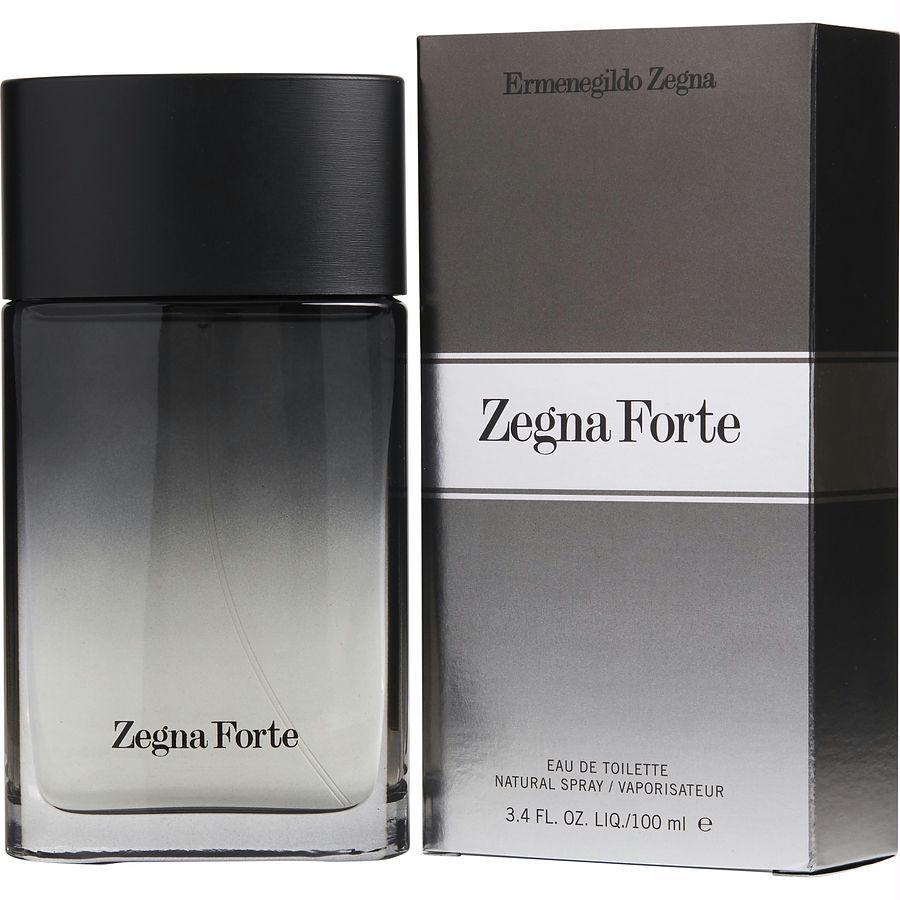 Zegna Forte By Ermenegildo Zegna Edt Spray 3.4 Oz