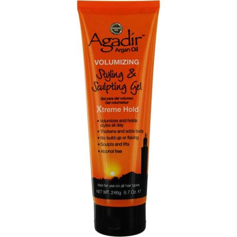 Argan Oil Volumizing Gel Extreme Hold 8.7 Oz