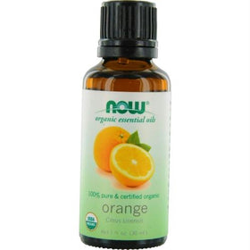 Now Essential Oils Orange Oil 100% Organic 1 Oz By Now Essential Oils
