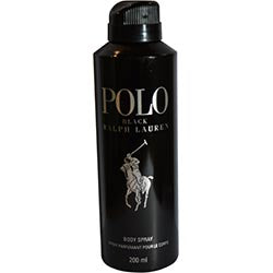 Polo Black By Ralph Lauren Body Spray 6 Oz