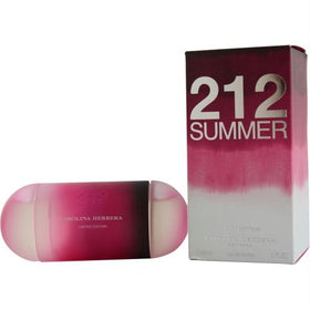 212 Summer By Carolina Herrera Edt Spray 2 Oz (limited Edition 2013)