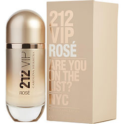 212 Vip Rose By Carolina Herrera Eau De Parfum Spray 2.7 Oz