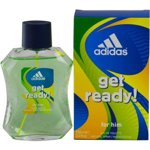 Adidas Get Ready By Adidas Edt Spray 3.4 Oz