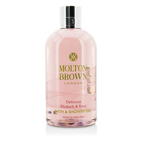Delicious Rhubarb & Rose Bath & Shower Gel --300ml/10oz