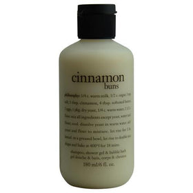 Cinnamon Buns Shampoo, Shower Gel & Bubble Bath --170ml/6oz - W