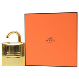Hermes By Hermes Gold Tone Refillable Lock Spray .25 Oz (empty Flacon)
