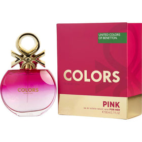Colors De Beneton Pink By Benetton Edt Spray 2.7 Oz