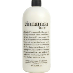 Cinnamon Buns Shampoo, Shower Gel & Buble Bath--946.4ml/32oz