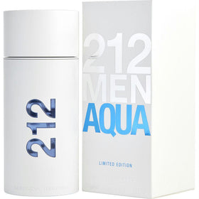 212 Aqua By Carolina Herrera Edt Spray 3.4 Oz (limited Edition)