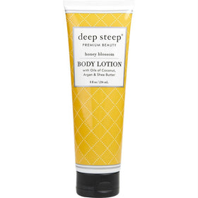Deep Steep Honey Blossom Organic Body Lotion 8 Oz By Deep Steep