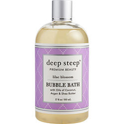 Deep Steep Lilac Blossom Bubble Bath 17 Oz By Deep Steep