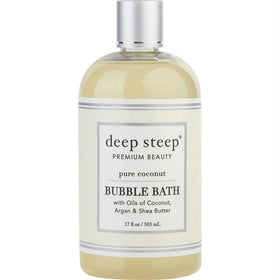 Deep Steep Pure Coconut Bubble Bath 17 Oz By Deep Steep