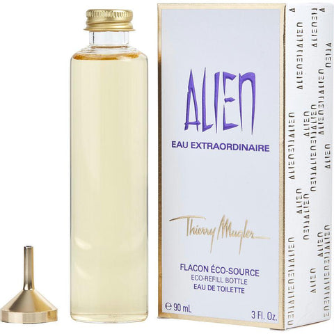 Alien Eau Extraordinaire By Thierry Mugler Edt Spray Eco Refill 3 Oz