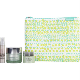 Smart Defense Set: Superdefense Daily Defense Moisturizer Spf 20 50ml/1.7oz + Smart Custom-repair Serum 10ml/.33oz + Superdefense Night Recovery Moisturizer 15ml/0.5oz --3pcs+1bag